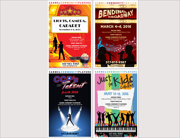 Carmel Community Players Posters