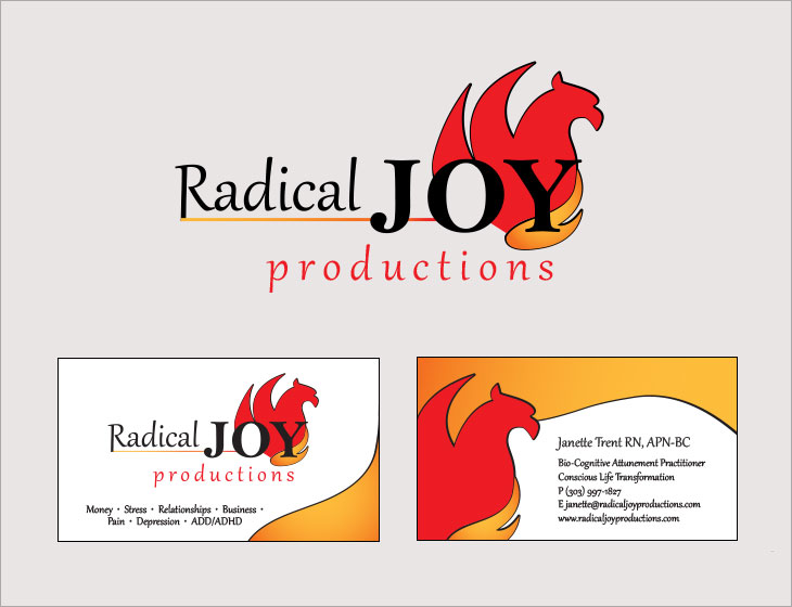 Radical Joy Logo and Card